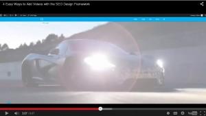4 Easy Ways to Add Videos using the SEO Design Framework